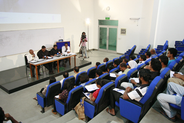International Right to Know day on 28th September 2012 at the Maldives National University