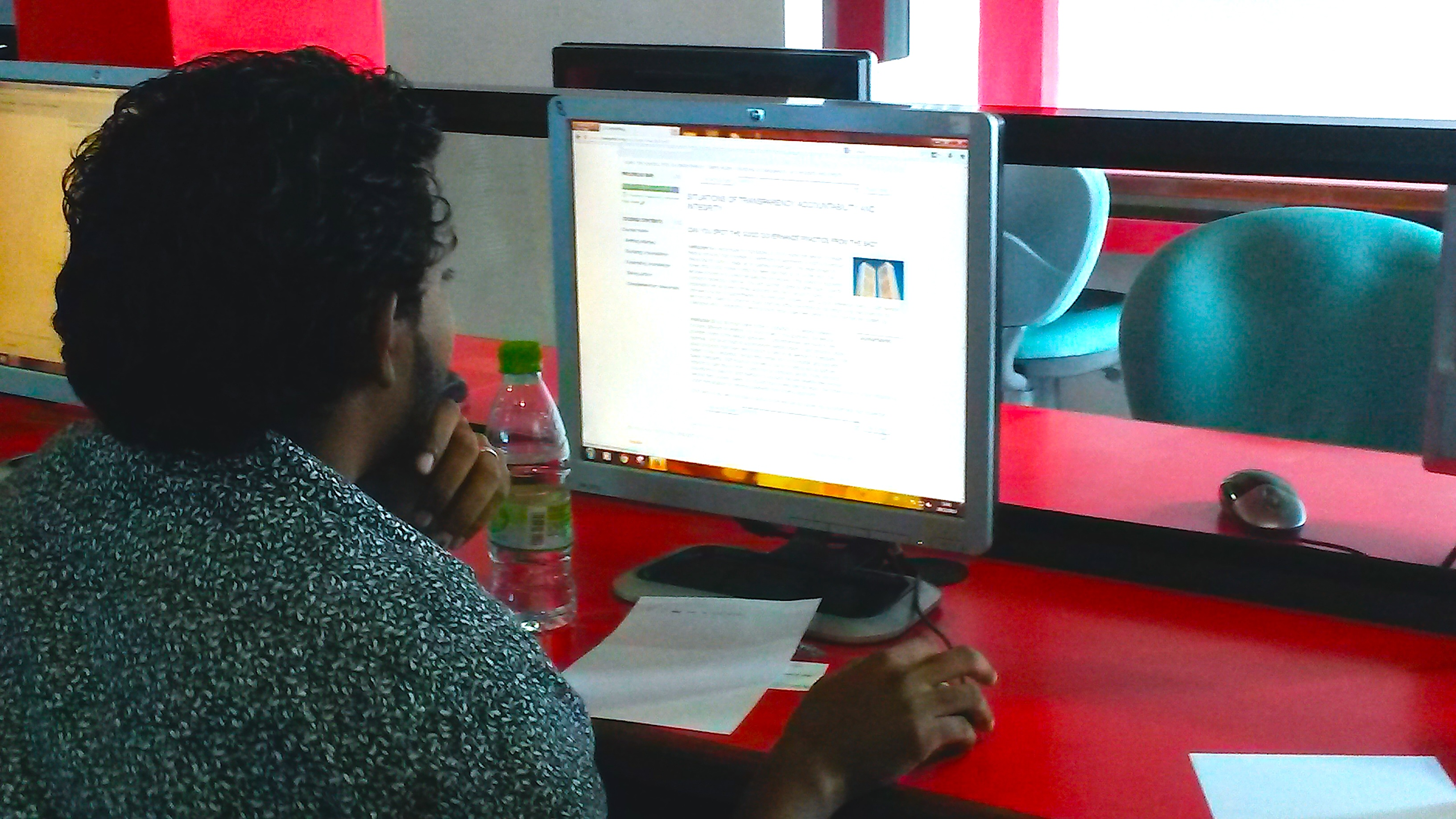 Student of BSc in Environmental Sciences Maldives National University The course builds on technical knowledge of the students to complement practical challenges of implementation